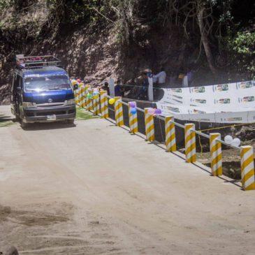 Construcción de puente impedirá que vecinos del caserío Patanil queden incomunicados