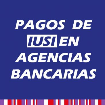 Pago de IUSI en Agencias Bancarias