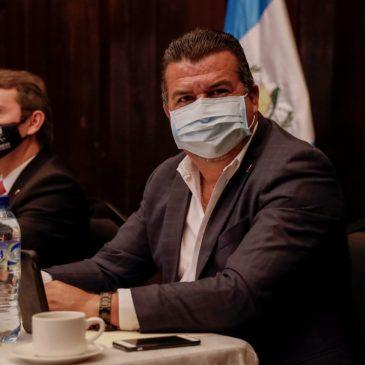 Semana de trabajo del Alcalde Pellecer en diferentes Instituciones de Gobierno.