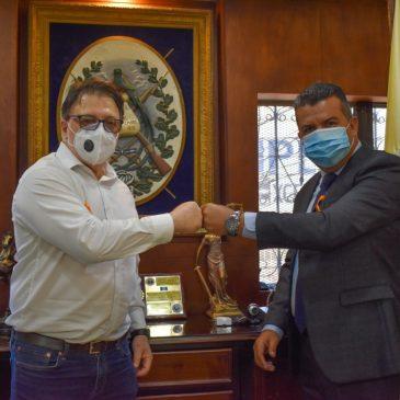 Visita del Director de la UNESCO