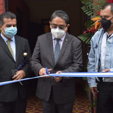 Inauguración de la Auxiliatura de la PDH en San Juan Sacatepéquez