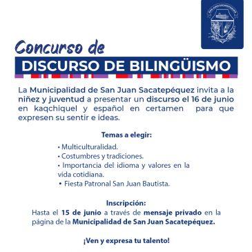 Concurso de Discurso de Bilingüismo