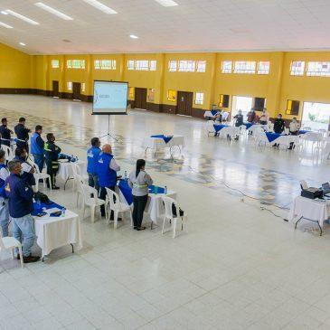 Juramentación de la Coordinadora Municipal para la Reducción de Desastres -COMRED-