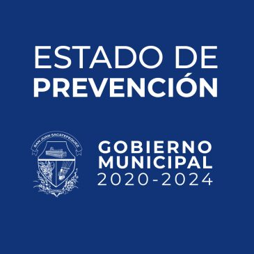 Declaratoria de Estado de Prevención