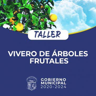 Taller sobre viveros de árboles frutales.