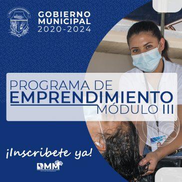 Programa de Emprendimiento de la Dirección Municipal de la Mujer