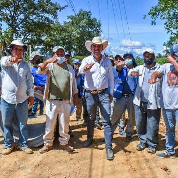 Obras de desarrollo para el Caserío San José Lo de Ortega