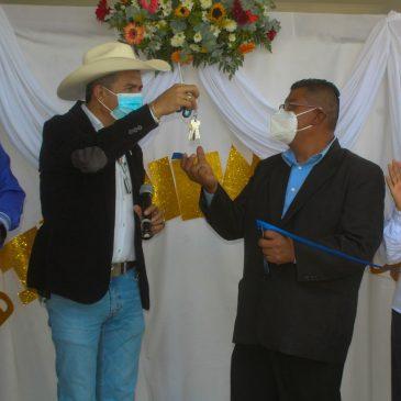 Inauguración Escuela Oficial Rural Mixta «Ascensión» en Aldea Loma Alta
