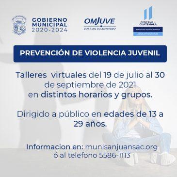 Taller sobre Prevención de Violencia Juvenil